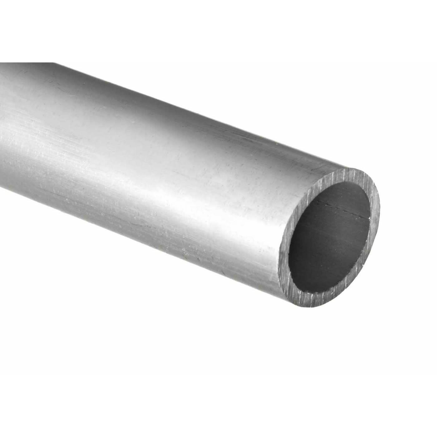 RMP 6061-T6 Aluminum Pipe, 1 1/2'', 72'' Length, Schedule 40 ASTM B429 Structural