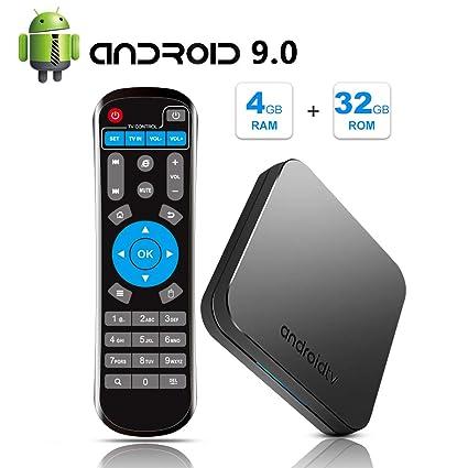 Sidiwen Android 9 0 TV BOX MECOOL KM9 4GB RAM 32GB ROM Amlogic S905X2 Quad  Core Bluetooth 4 1 Dual-Band WIFI 2 4G/5G Ethernet Internet Set Top Box