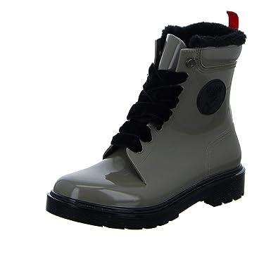 best website 5f1a0 68326 GOSCH SHOES Damen glänzende Boots Stiefel Wasserdicht 71051 ...