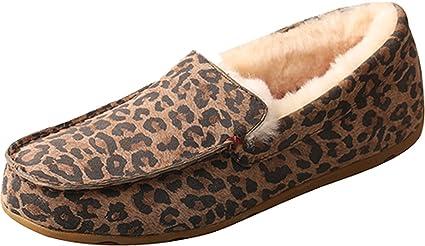 9aeb06f0f576 Amazon.com  Twisted X Ladies Leopard Slippers  Sports   Outdoors