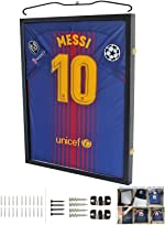 Jersey Display Frame Case Large Frames Shadow Box Lockable with UV