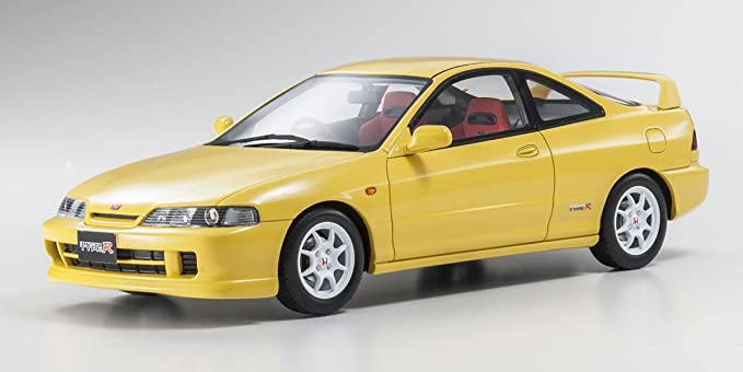 OT792 OTTOMOBILE Spoon 1998 Yellow 1//18 Honda Integra DC2