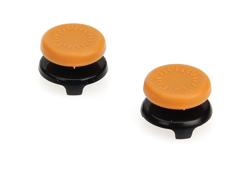 AmazonBasics Xbox One Controller Thumb Grips - Pack of 2, Orange