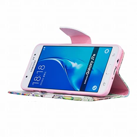 LEMORRY para Samsung Galaxy J7 (2016) J710 Funda Estuches Pluma ...