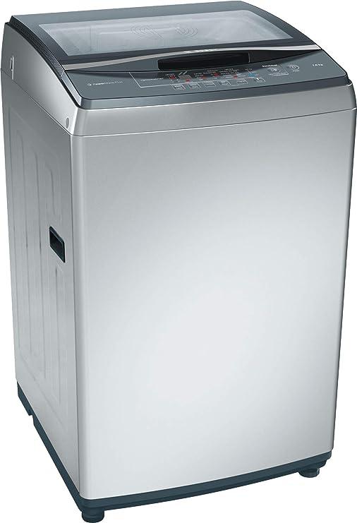 Bosch Top Load Washing Machine, 7kg (Silver) Washing Machines & Dryers at amazon