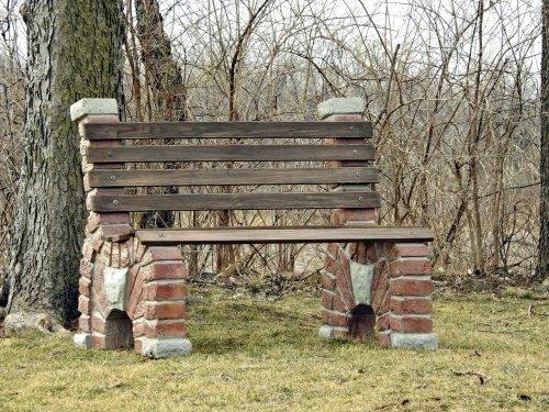 Stacked Arch Brick Bench Precast Mold Set