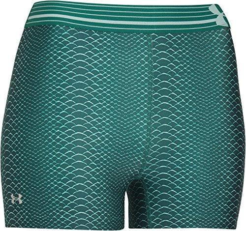 Under Armour Heatgear Women's Alpha Printed Shorty - SS15 - Small - Green