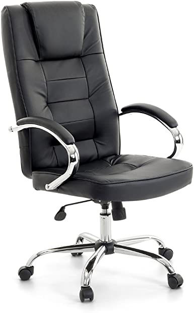 San Diego Executive Chair Massage Chair Black Chrome Office Chair With Massage For Office Chair Leather Swivel Chair Amazon De Beleuchtung