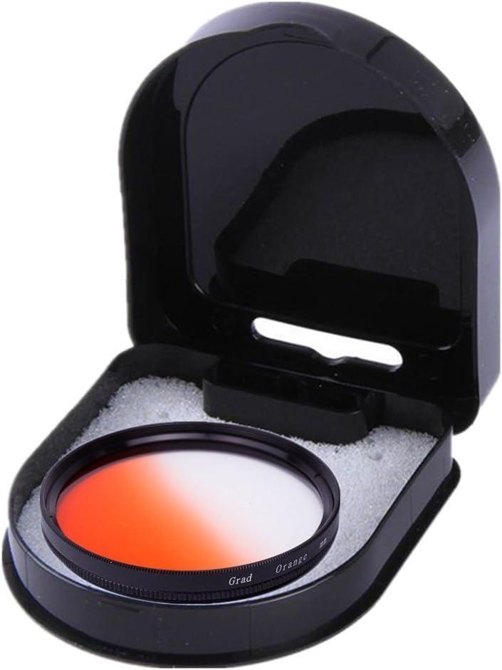 43mm 1pcs 37mm 40.5mm 43mm 46mm 49mm 52mm 55mm 58mm 62mm 67mm 72mm 77mm 82mm Graduated Orange Gradual Color Lens Filter Protector