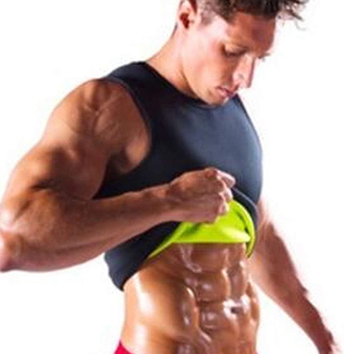 Sylvialuca Slimming Belt Belly Men Slimming Vest Body Shaper Abdomen Fat Burning Shaperwear Waist Sweat Corset Weight Loss