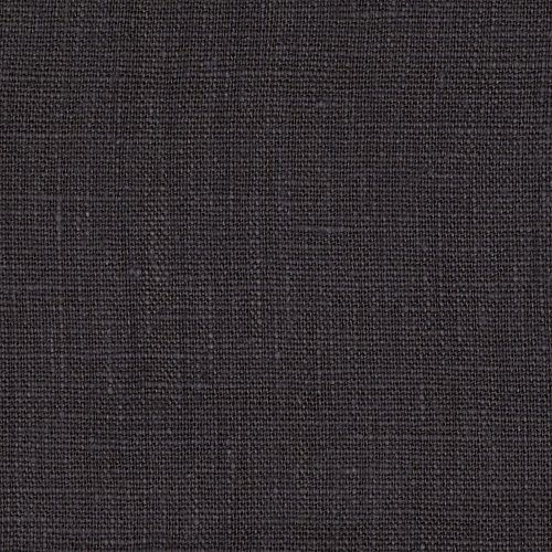 Noveltex Fabrics European 100% Washed Linen Charcoal Grey ()