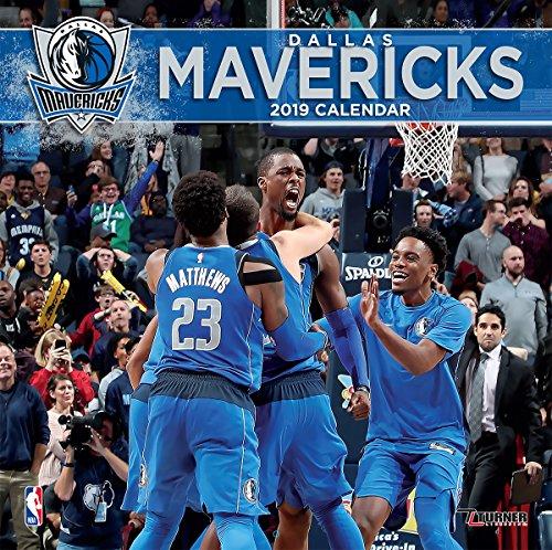 Turner 1 Sport Dallas Mavericks 2019 12X12 Team Wall Calendar Office Wall Calendar (19998011875)