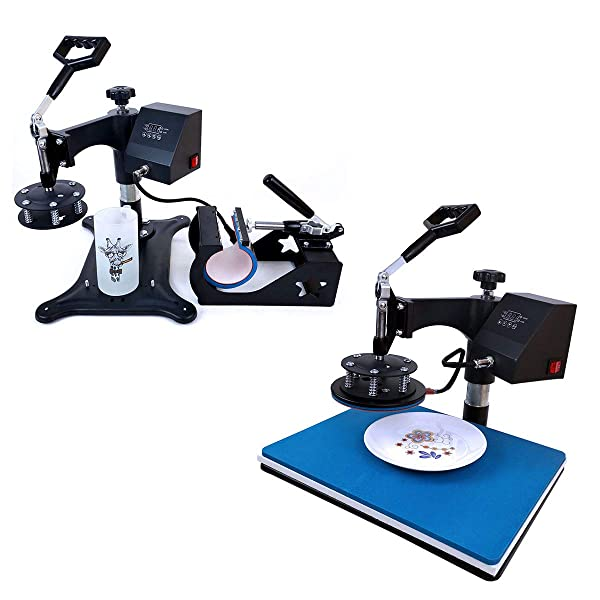BetterSub 5 in 1 Sublimation Heat Press Machine