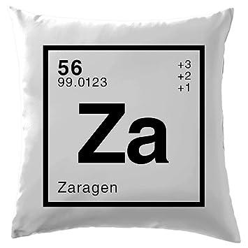 ZARA - elemento periódico - 41 x 41 cm Cojín (40,64 cm) - 10 ...