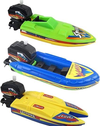 4 Pack Boat Bath Toy Plastic Sailing Boats Bathtub Tub Toys Fun PlaySet NEW