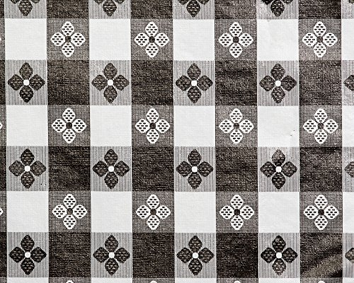 (Trimplace 54 Inch Vinyl Tavern Check Fabric With Non Woven Flannel Back)