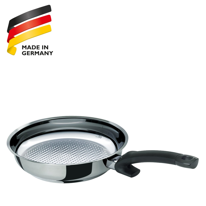 Fissler 12110128100 Crispy steelux Comfort - Sartén (28 cm): Amazon.es: Hogar