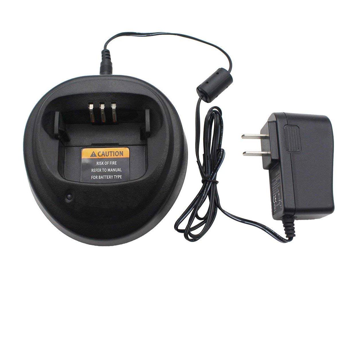 abcGoodefg Ni-MH Ni-CD Li-ion Battery Rapid Quick Charger For Motorola Radios CP040 CP140 CP150 CP160 CP180 CP340 CP360 CP380 GP3138 GP3688 PM400 PR400 EP450 RQC-MT-3P