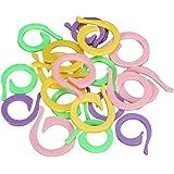 Folder Lock aguja 20 Colorido tejer crochet marcado proceso de empalme