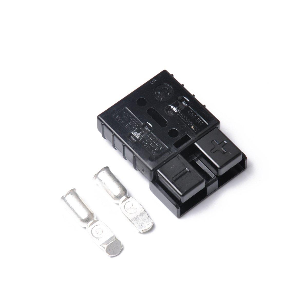 VORCOOL 10Pcs 50A 600V Connettore esterno spina stile Anderson con 20 contatti 2622R6L7102