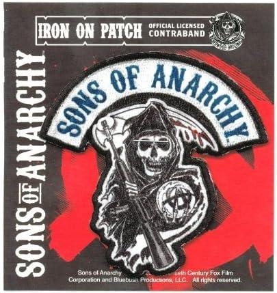 Sons Of Anarchy OG original Parche: Amazon.es: Juguetes y juegos