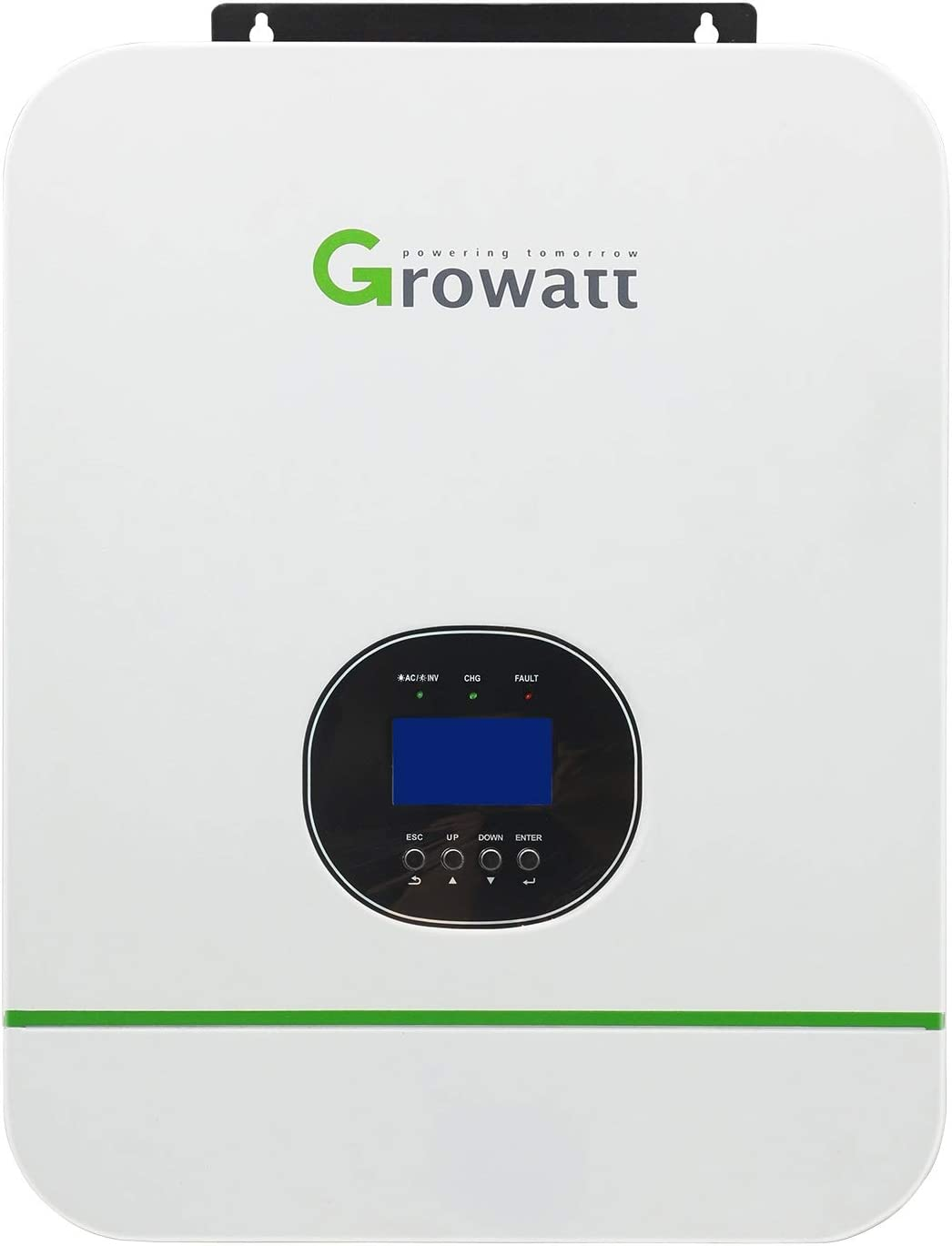PowMr 3000W Off-Grid Solar Inverter 110V/220V Built-in 80A MPPT Solar Charge Controller, Pure Sine Wave Hybrid Inverter Work with 48V Battery Off Grid Solar Home Use