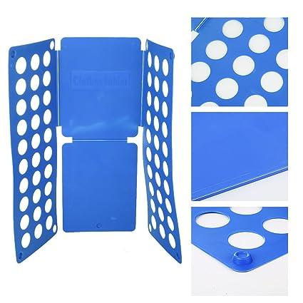 ogori ropa/T Shirt carpeta tabla para doblar camisas de plástico azul fácil y rápida