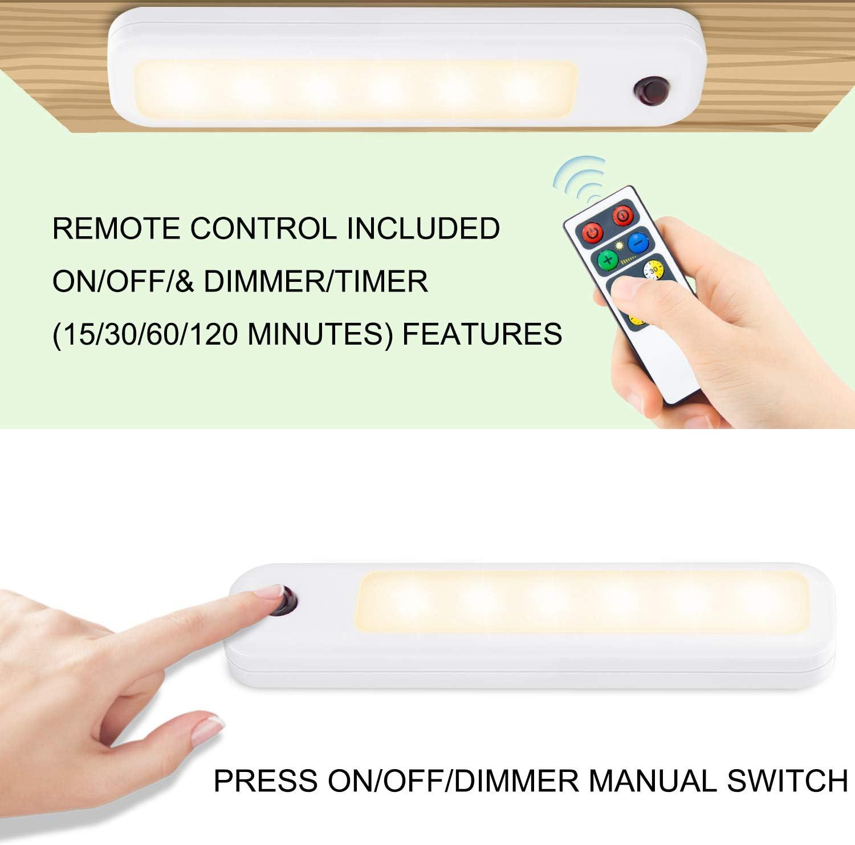 HONWELL Projecteurs LED sans fil avec t/él/écommande Dimmable Lumi/ère dimage Projecteur rechargeable /à changement de couleur avec t/ête rotative Night Light pour chambre /à coucher Tableau de fl/échettes