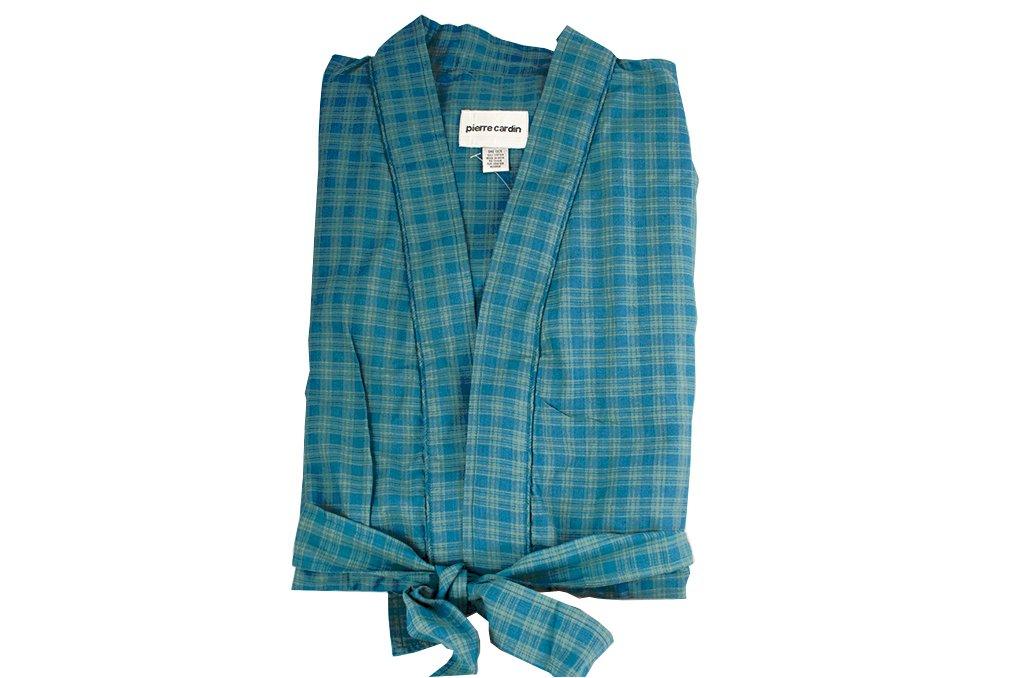 Pierre Cardin Men\'s Bathrobe Men\'s Dressing Gown Kimono Style XL ...