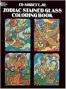 Descargar Libros Formato Zodiac Stained-glass Colouring Book Leer Formato Epub