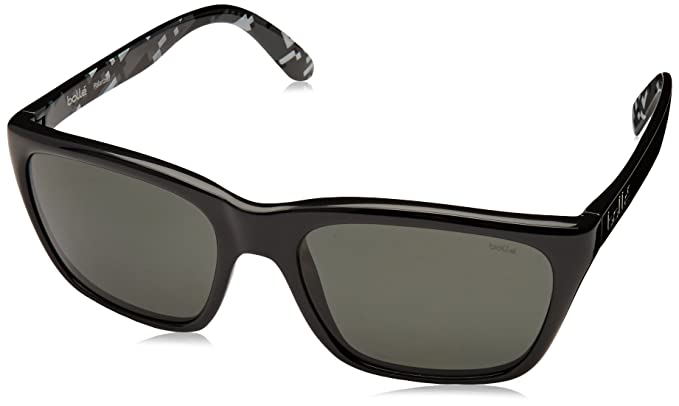 Bollé 527 Gafas de Sol, Unisex Adulto, Shiny Black, Medium ...