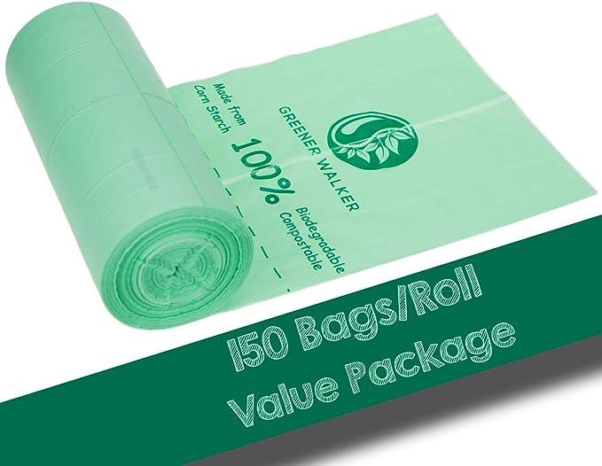 Greener Walker 100% compostable Biodegradable 10L Bolsa Basura ...