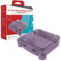 Hyperkin RetroN S64 - Base de consola para interruptor, color morado
