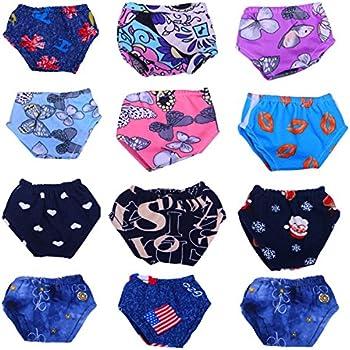 0cbafb006825 Amazon.com  Jeleuon Cute Baby Beautiful 8 Pcs Bowknot Underwear Set ...