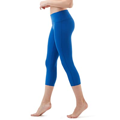 "Tesla Yoga 21"" Capri Mid-Waist Pants w Hidden Pocket FYC31/FYP31"