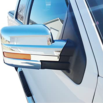 Fit Ford F150 2009-2014 Chrome TOP Mirror 2 Door Handle Tailgate Cover