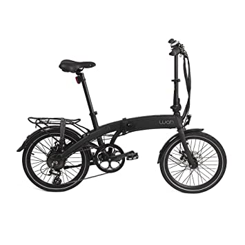 Bicicleta plegable elctrica shimano litio