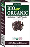 Polvo orgánico puro certificado de Shikakai con libro de recetas gratis de 100g (Shikakai Fruit Powder)
