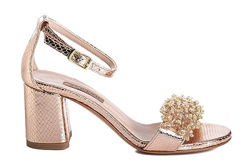 scarpe da ginnastica a buon mercato 980f0 ac66e ALBANO Scarpe Sandalo Donna 2042 Pitone Rame: Amazon.it ...