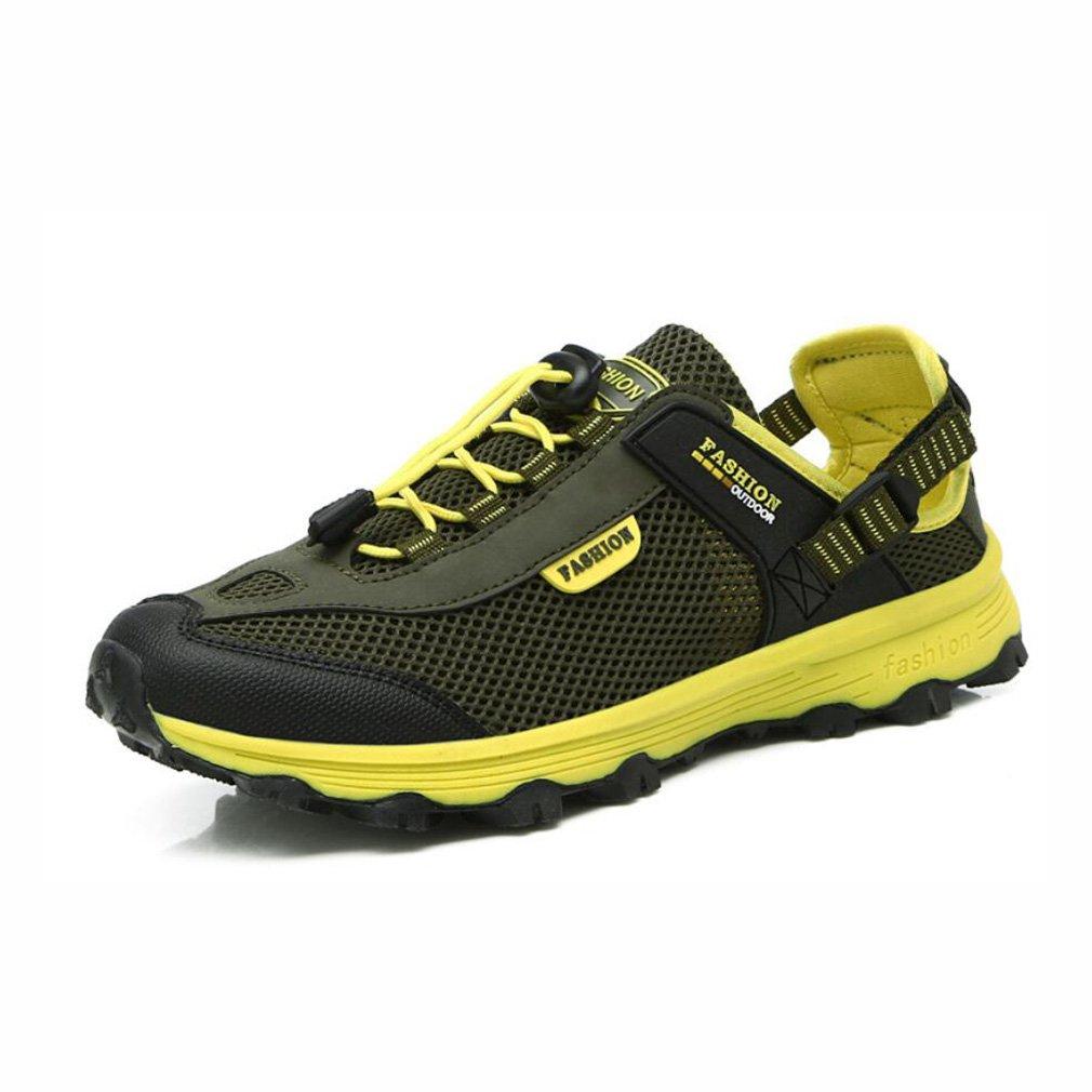 YaXuan Outdoor-Männer und Frauen Schuhe, Gartenschuhe, Atmungsaktive Leichte Mesh-Schuhe, Wandern Klettern Bergschuhe, Paar Schuhe (Farbe : Ein, Größe : 39)
