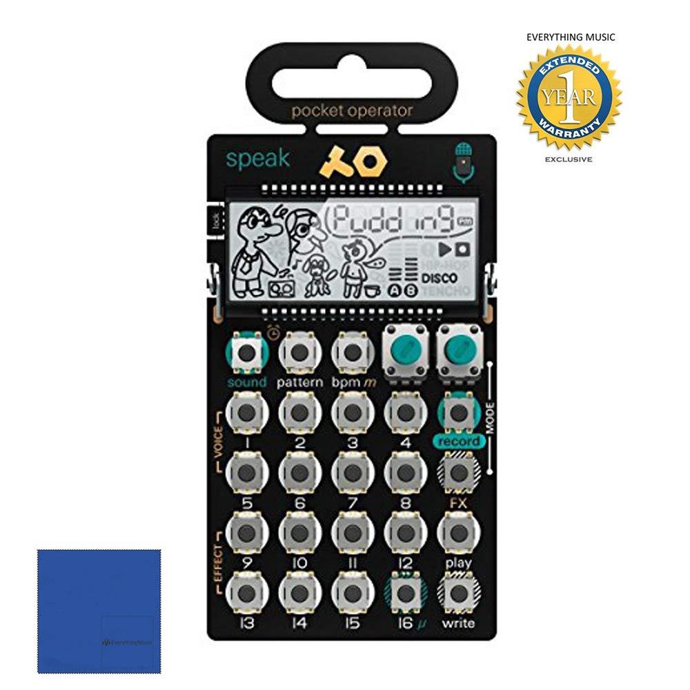 Teenage Engineering PO-35 Speak Pocket Operator Vocal Synthesizer with 1 Year EverythingMusic Extended Warranty Free by Teenage Engineering (Image #1)