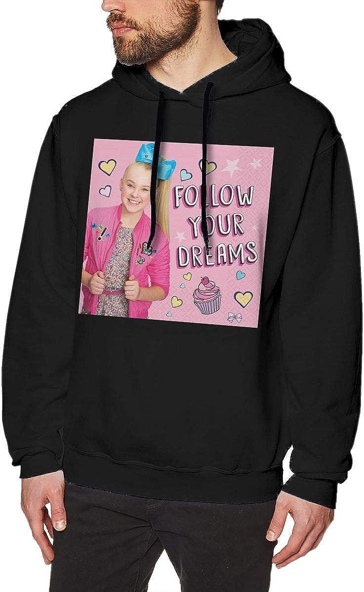 DANIPEW Mens Hoodie Sweatshirt Its Jo-Jo-Siwa Sweater Black