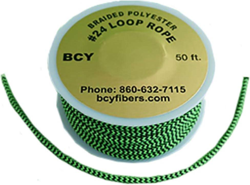 BCY 24 D-Loop Material Blue//Black 1 Meter