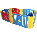 Babycenterindia Baby Room Standard With 2 Extension Kit- Red-Blue-Yellow