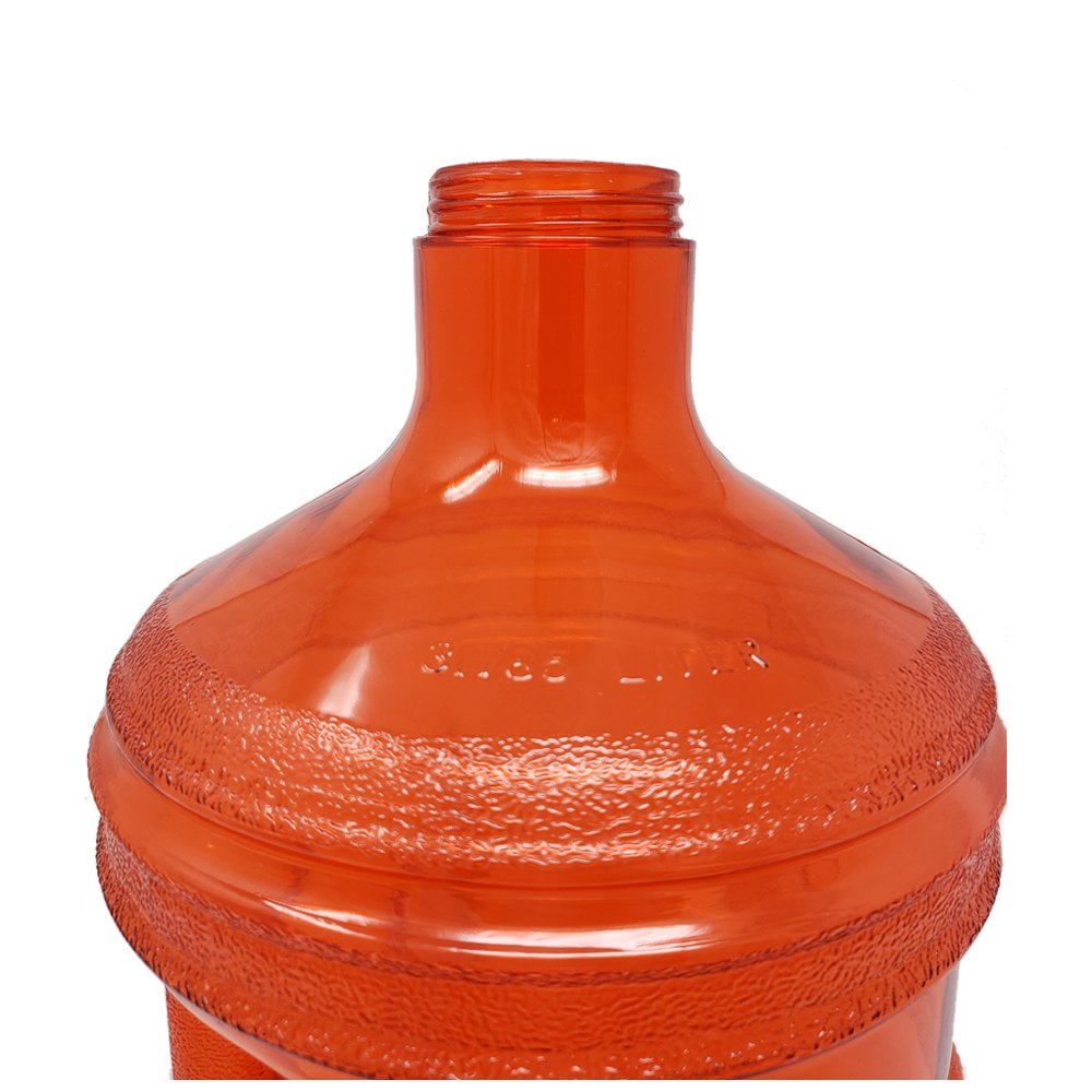 1 Gallon Leak-Proof BPA Free Reusable Plastic Drinking Water Big Mouth Bottle Jug Container with Holder Drinking Canteen
