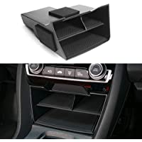 CKE For 10th Gen Civic Center Console Organizer ABS Black Materials Tray Armrest Storage Box Glove Pallet Container For…