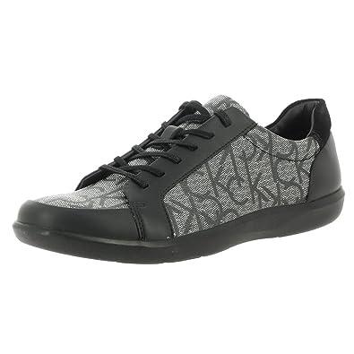 32501a0f4f5e Calvin Klein Men s Macabee 2 Brushed CK Print Granite F0231gri Lace-Up Flats