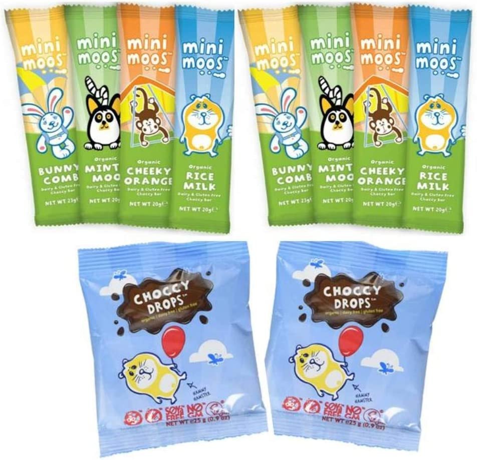 Moo Free Mini Moo 10 x Mixed case Bars & Drops