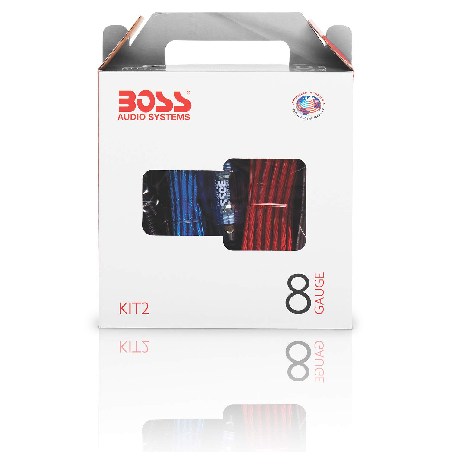 Boss Audio Kit2 8 Gauge Amplifier Installation Wiring 1000 Watt Amp Kit A Car Helps You Make Connections And Brings Power To Your Radio