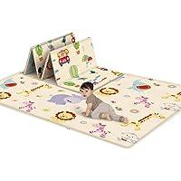 Kid speelmat, niet giftig Folding Floor Mat Foam Waterdicht baby kruipen mat voor Boy Girl, 0,5 cm / 0.2In Dik…